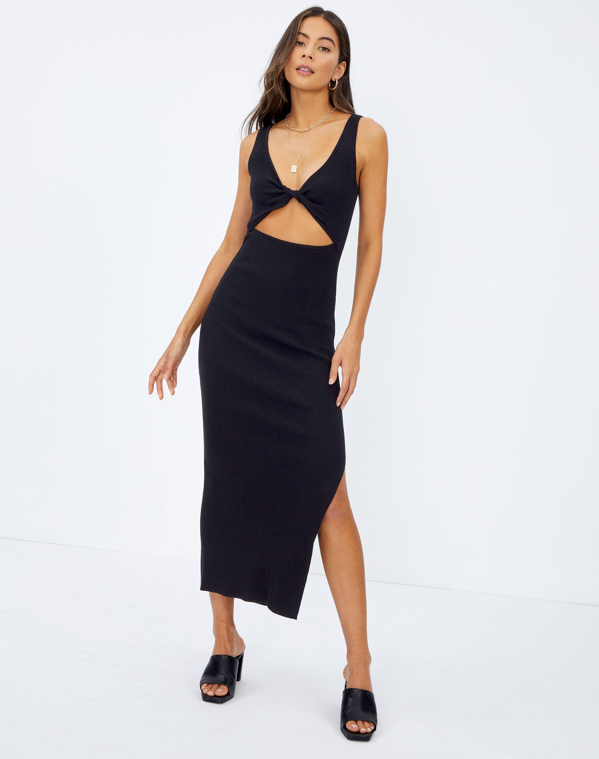Twist Reversible Knit Dress