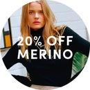 20% OFF MERINO