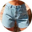 Spring Essential: Denim Shorts